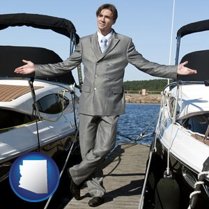 a yacht dealer - with Arizona icon