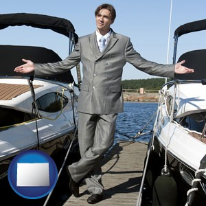 a yacht dealer - with Colorado icon